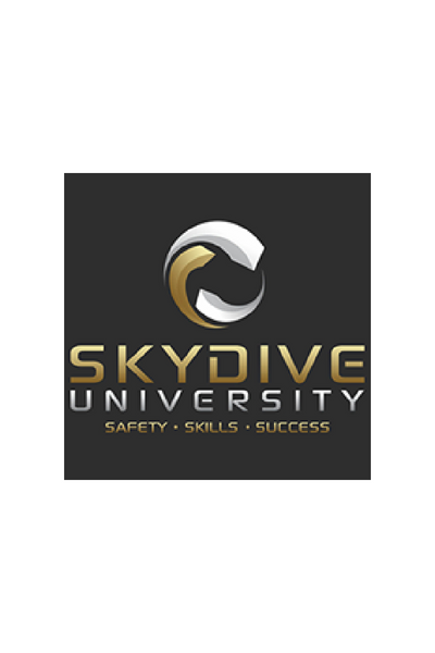 logo for skydive university
